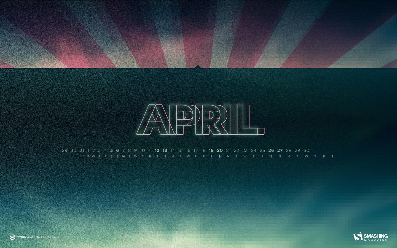Desktop Wallpaper Calendars: April 2014