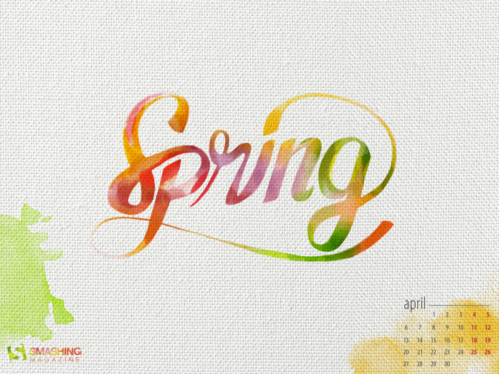 Desktop Wallpaper Calendars April 2017