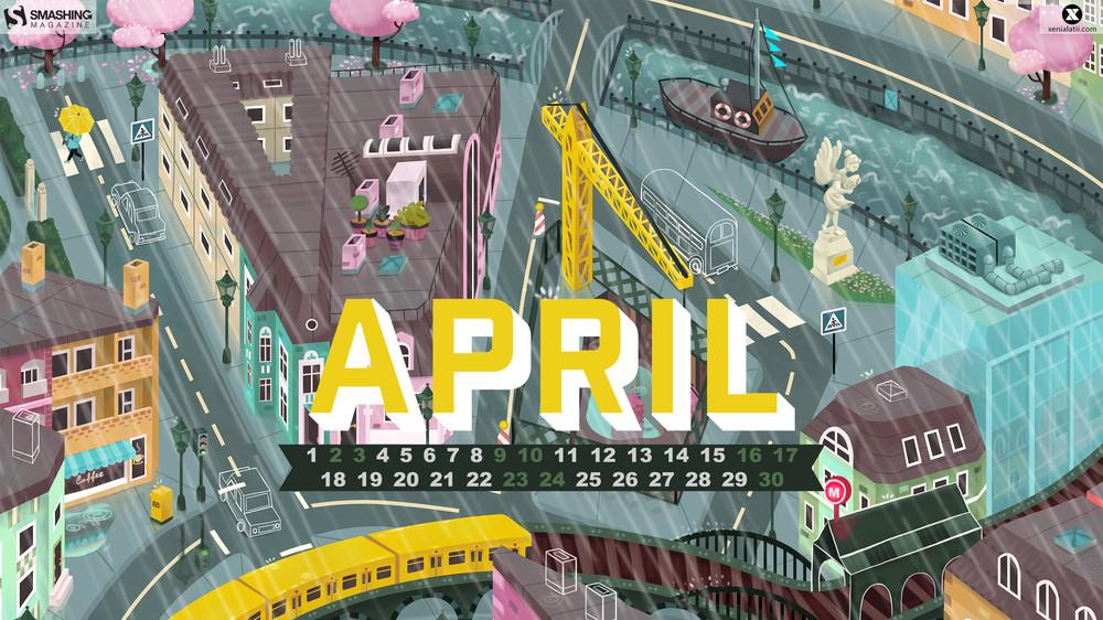 Calendar Wallpaper Smashing Magazine : Desktop wallpaper calendars april — smashing magazine