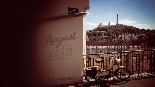 August in Lyon