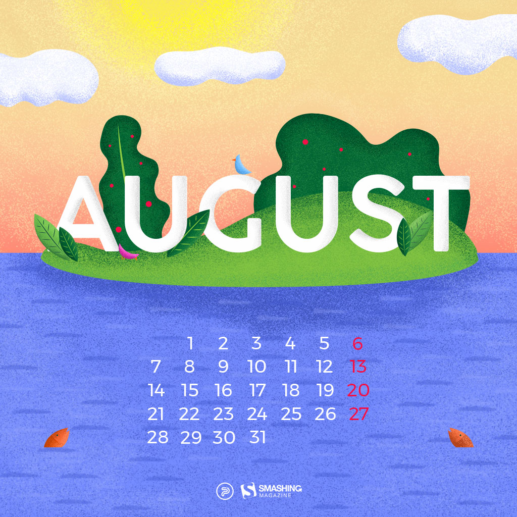 Beautiful Happiness Happens In August. U201c