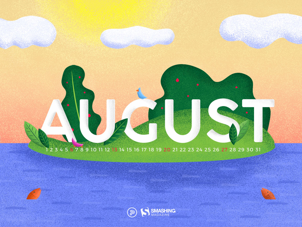 summer bliss and august adventures: wallpapers to kick-start the new
