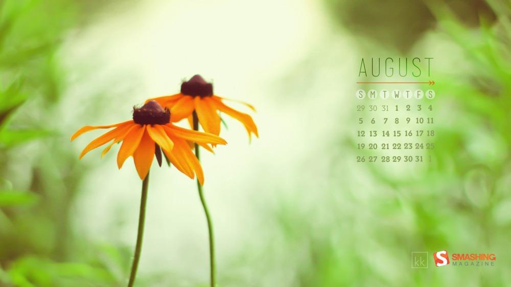 Фон для календаря красивый