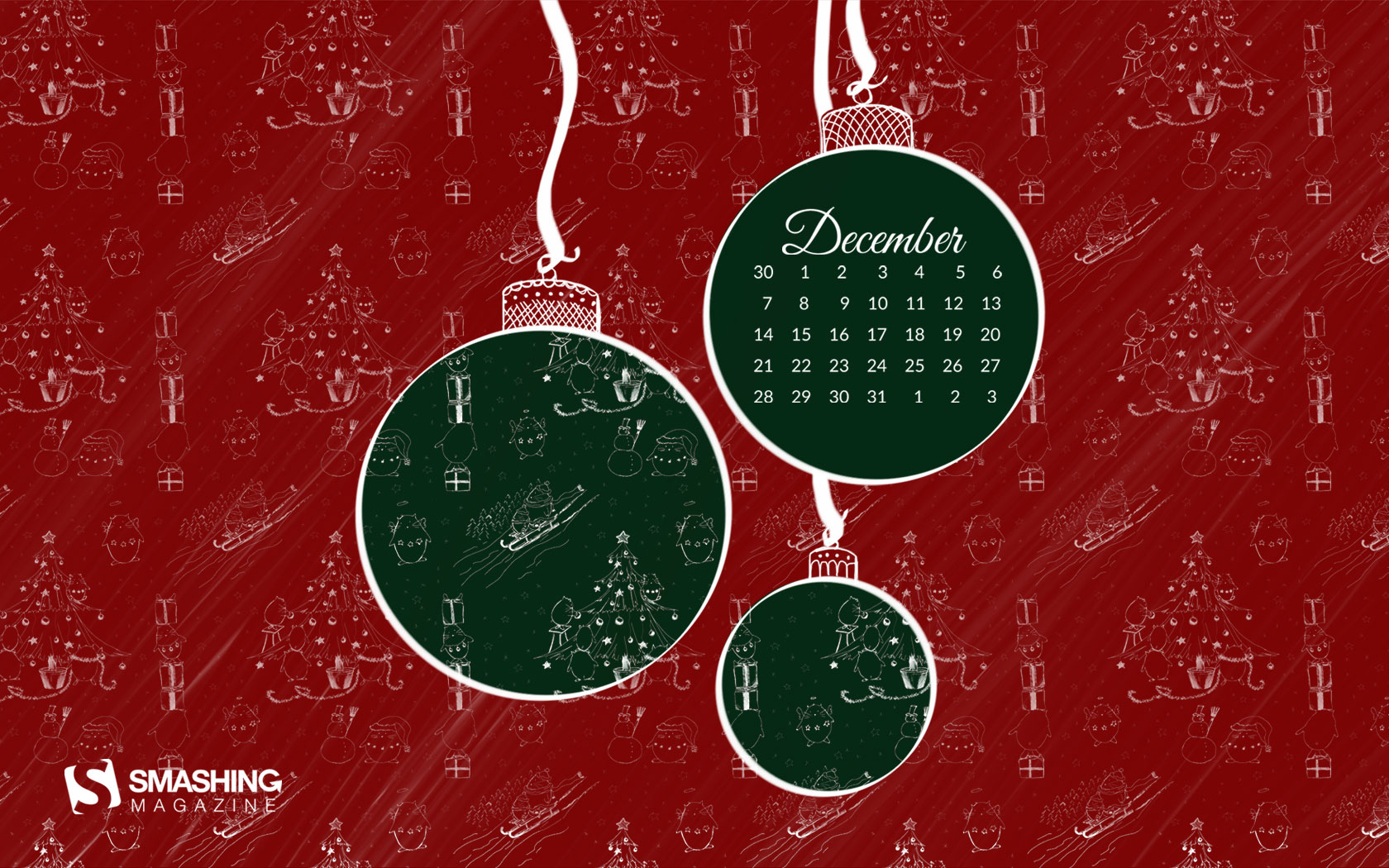 desktop wallpaper calendars: december 2015 — smashing magazine