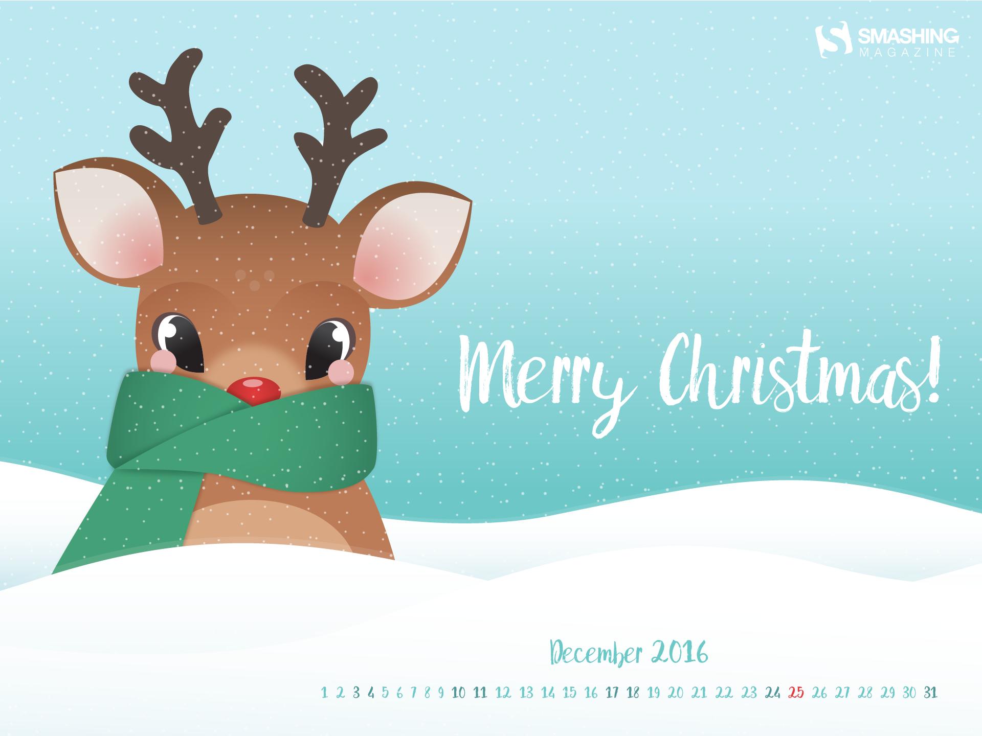 Desktop Wallpaper Calendars: December