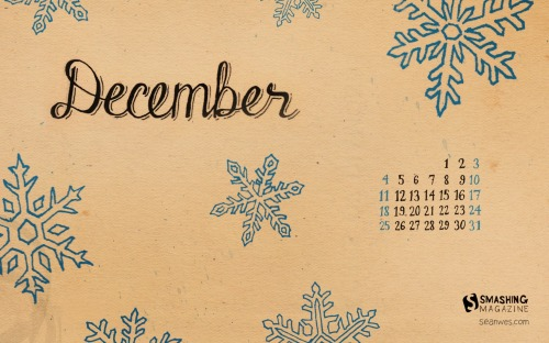 Smashing Wallpaper - december 11