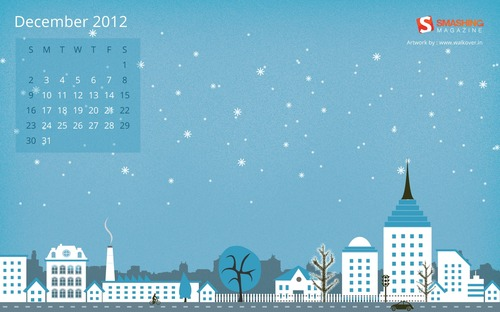 Smashing Wallpaper - December 2012