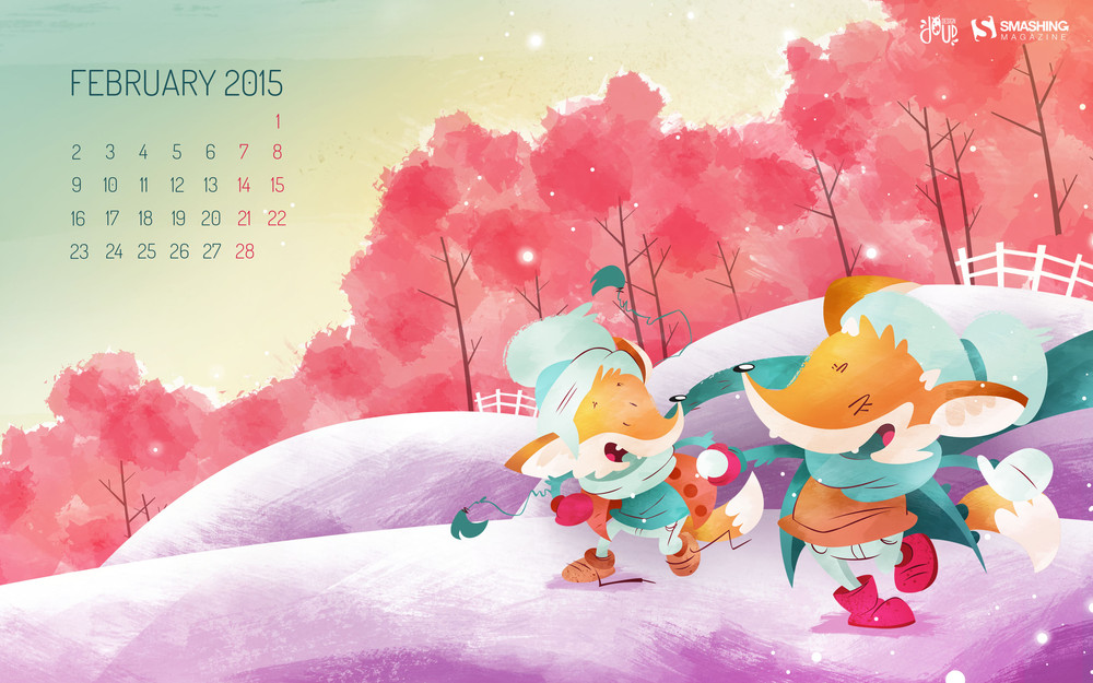 Desktop Wallpaper Calendars: February 2015 – Smashing Magazine