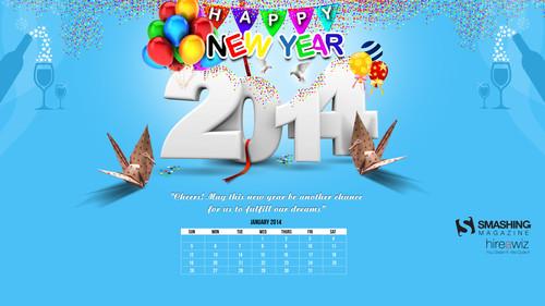 Cheers - Happy New Year 2014