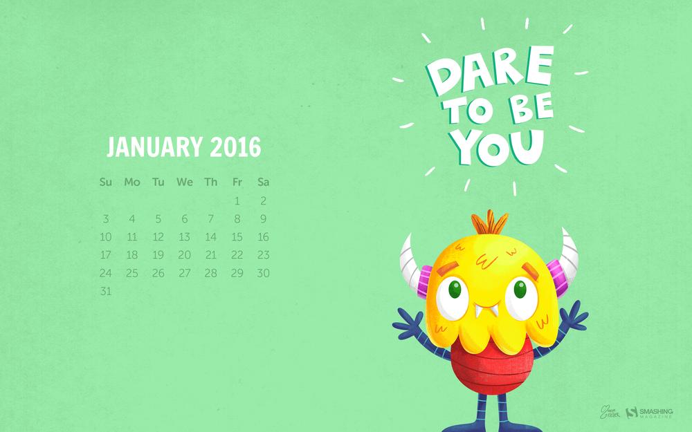Desktop Wallpaper Calendars January 2016 Smashing Magazine