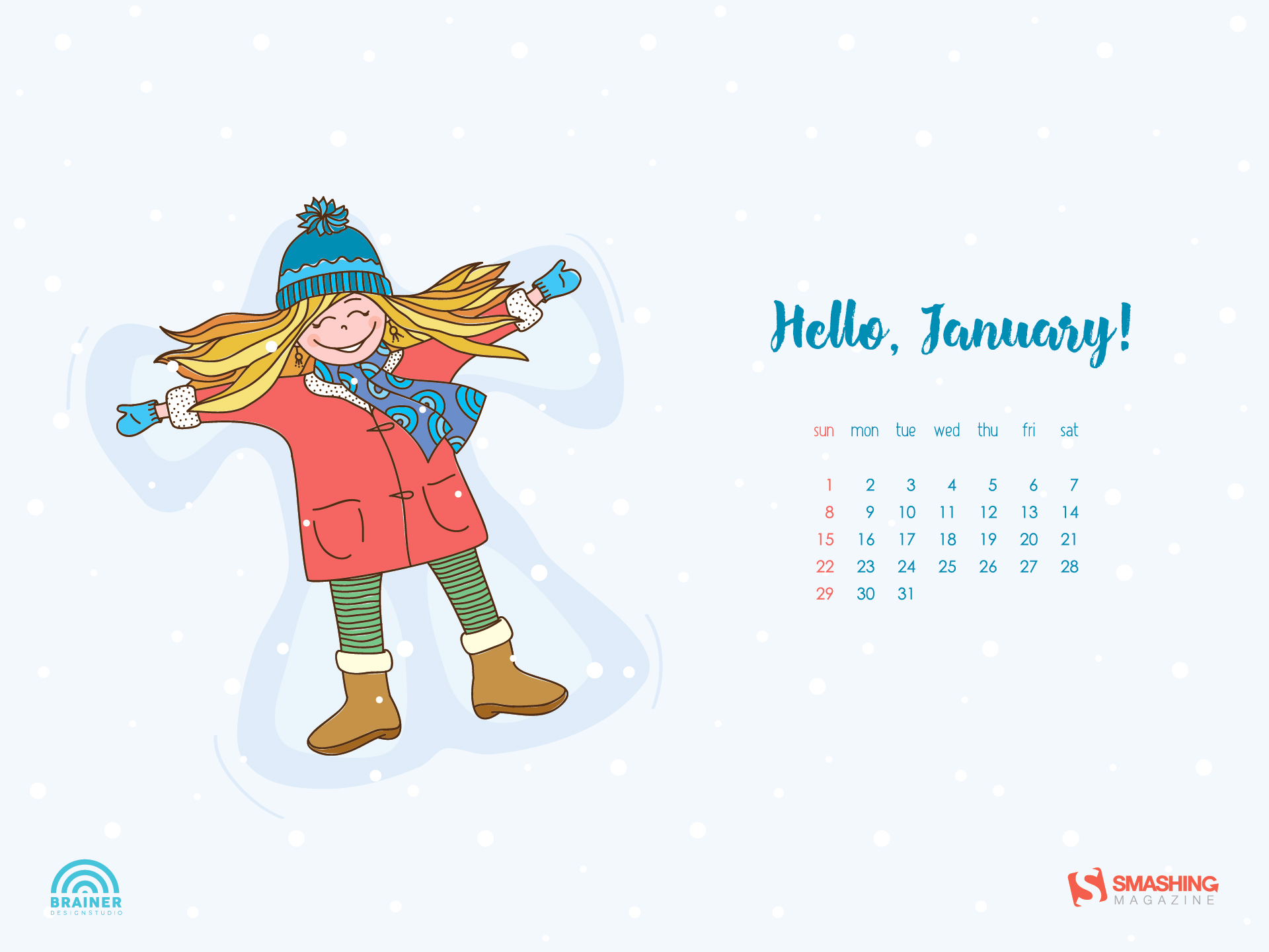 Desktop Wallpaper Calendars January 2017 — Smashing Magazine