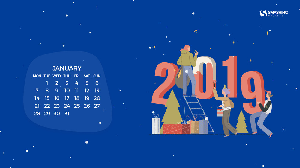 New Year, New Beginnings (January 2019 Wallpapers Edition