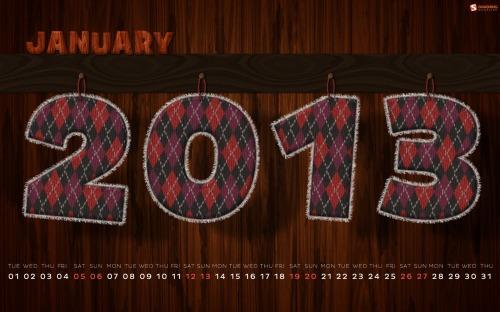 Smashing Desktop Wallpaper — January 2013
