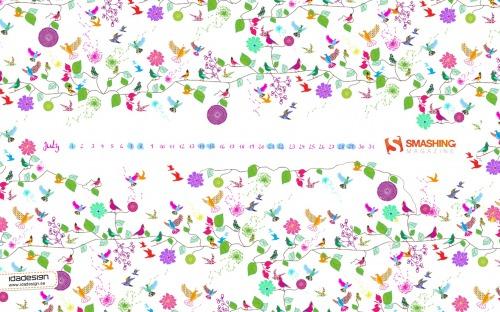 Smashing Desktop Wallpapers - July 2012