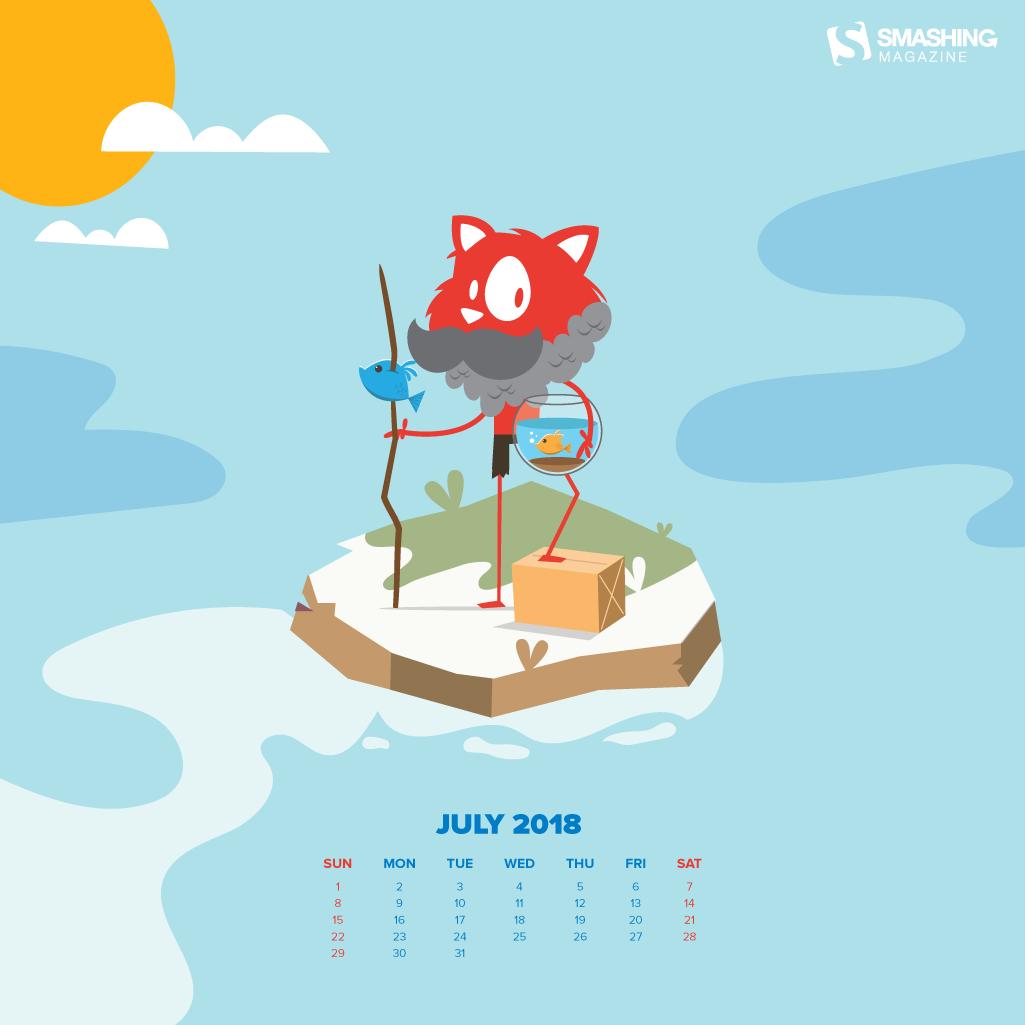 Summer Ice Cream Wallpaper: Summer On Your Desktop: Fresh Wallpapers For July 2018