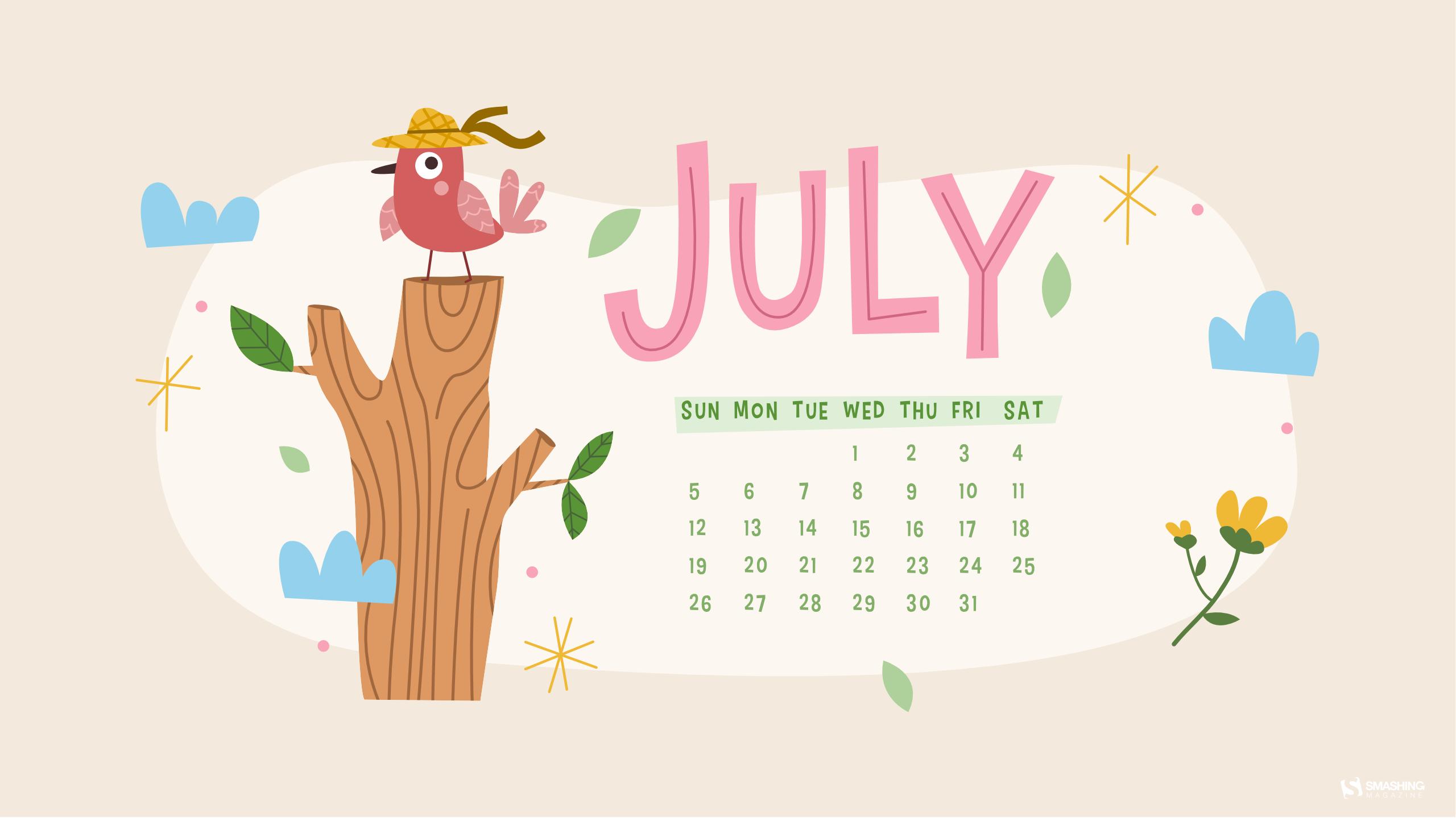 Calendar Wallpaper 2022.Finding Inspiration In The Simple Things July 2020 Wallpapers Edition Smashing Magazine