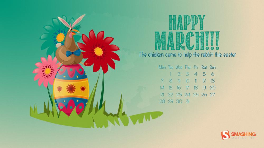Calendar Wallpaper Smashing Magazine : Desktop wallpaper calendars march — smashing magazine
