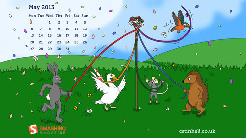 Maypole Animals