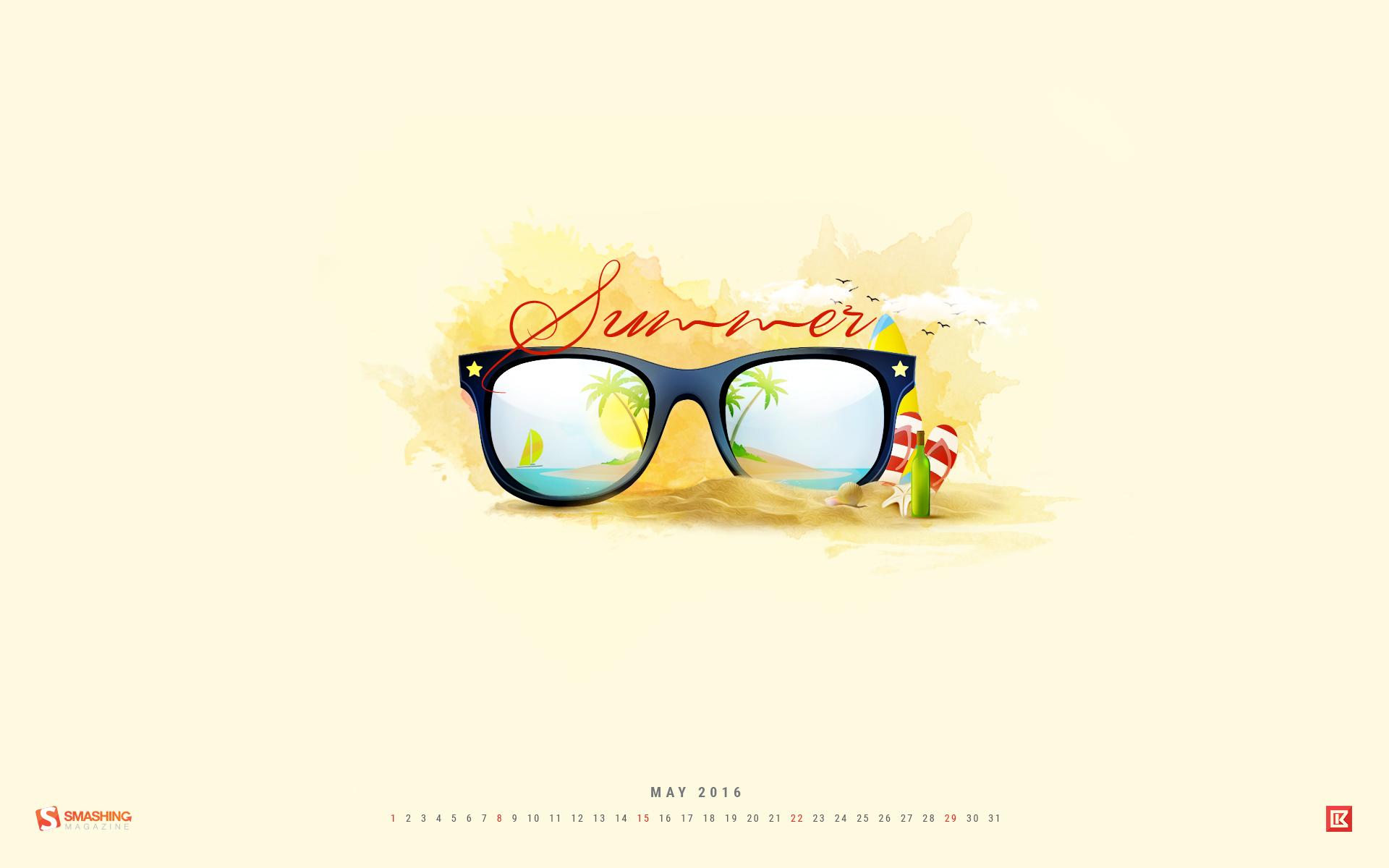 Desktop Wallpaper Calendars: May 2016 — Smashing Magazine