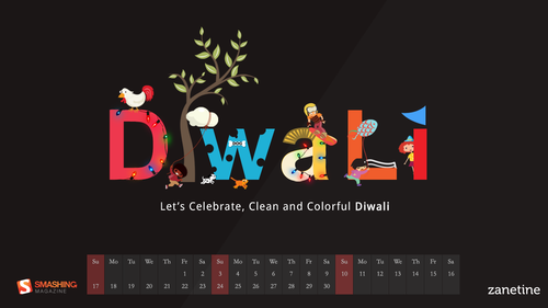 Clean and Colorful Diwali