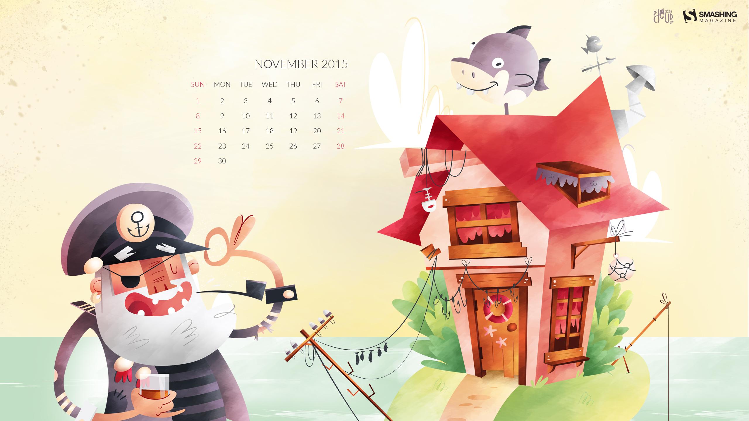 Calendar Wallpaper Smashing Magazine : Desktop wallpaper calendars november — smashing magazine