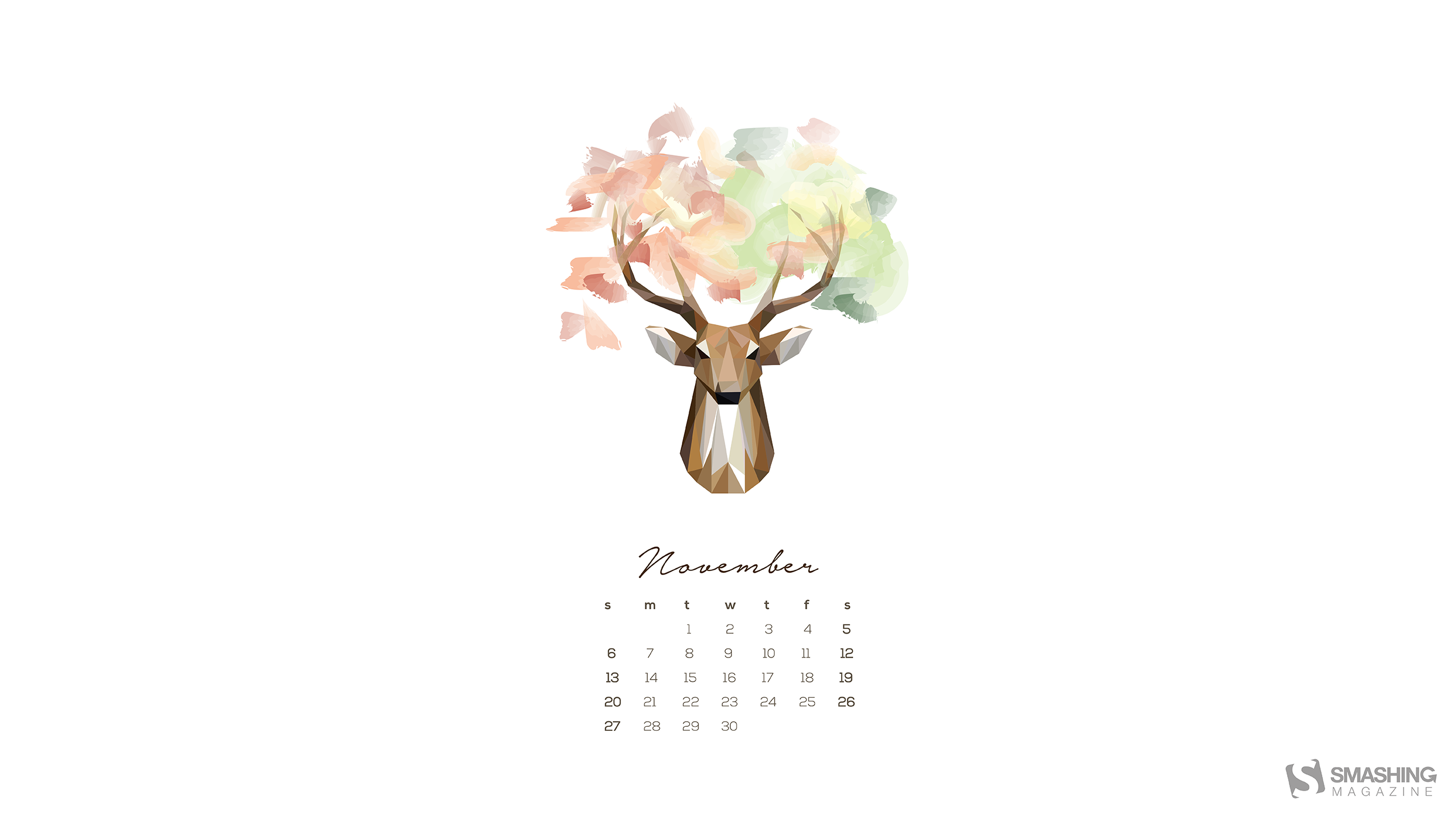 Desktop Wallpaper Calendars November 2016 Smashing Magazine