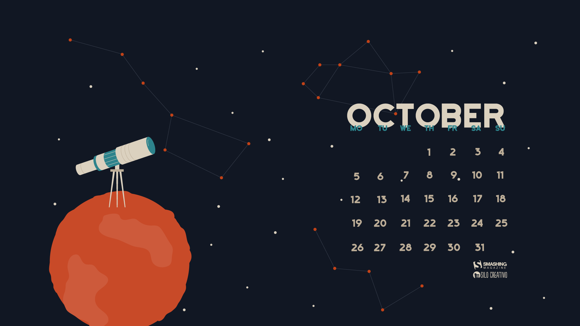 Desktop Wallpaper Calendars October 2015 Smashing Magazine
