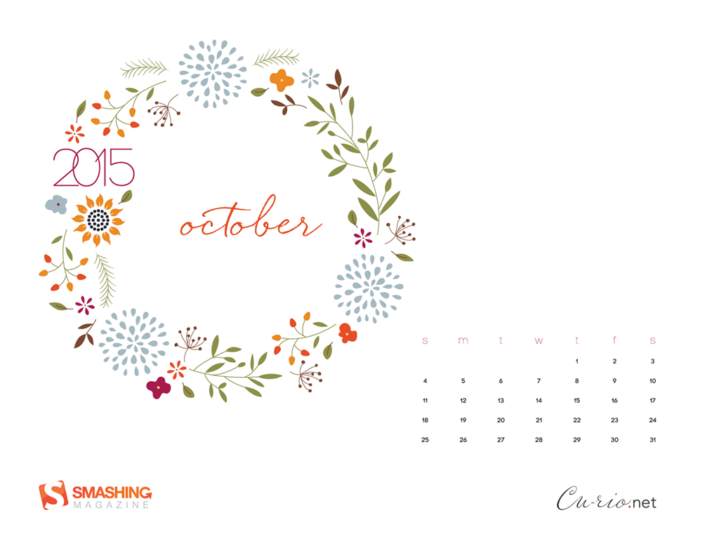 Wallpaper Calendar Oct : Desktop wallpaper calendars october — smashing magazine