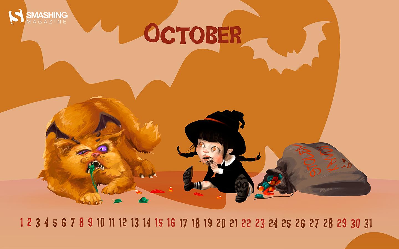 Calendar Wallpaper Smashing Magazine : Desktop wallpaper calendars october — smashing magazine
