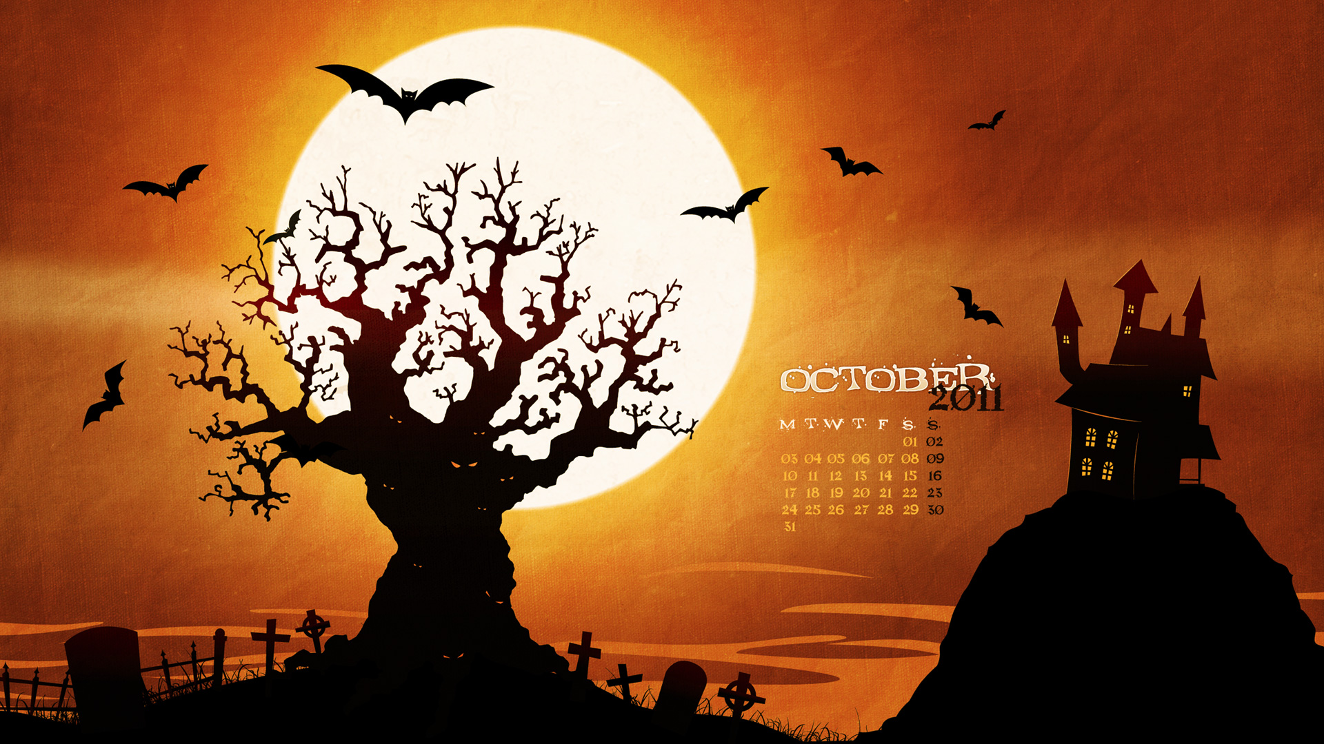Calendar Wallpaper Live Pc : Wallpapersku desktop wallpaper calendar october