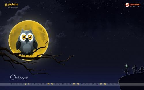 desktop wallpaper october 2012 - Desktop Wallpaper Halloween