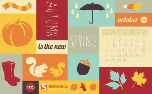 Smashing Magazine's Desktop Wallpaper - October 2012